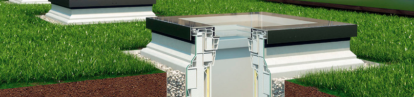 Installation Base XRD Designed for Type F Flat Roof Window- FAKRO USA