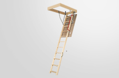 LWN wooden folding attic ladders