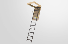OWM metal folding attic ladders