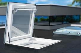 Flat Roof Skylights And Hatches Fakro Usa