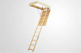 LWP Wooden folding attic ladders