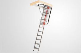 LML metal folding attic ladders & Types of attic ladders and their selection - FAKRO