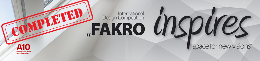 FAKRO Inspires Space For New Visions - Jury Report 2015 - FAKRO USA