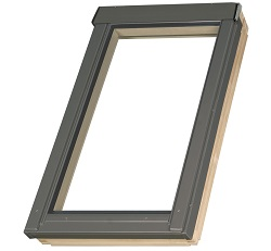 Energy efficient fixed roof window FNP