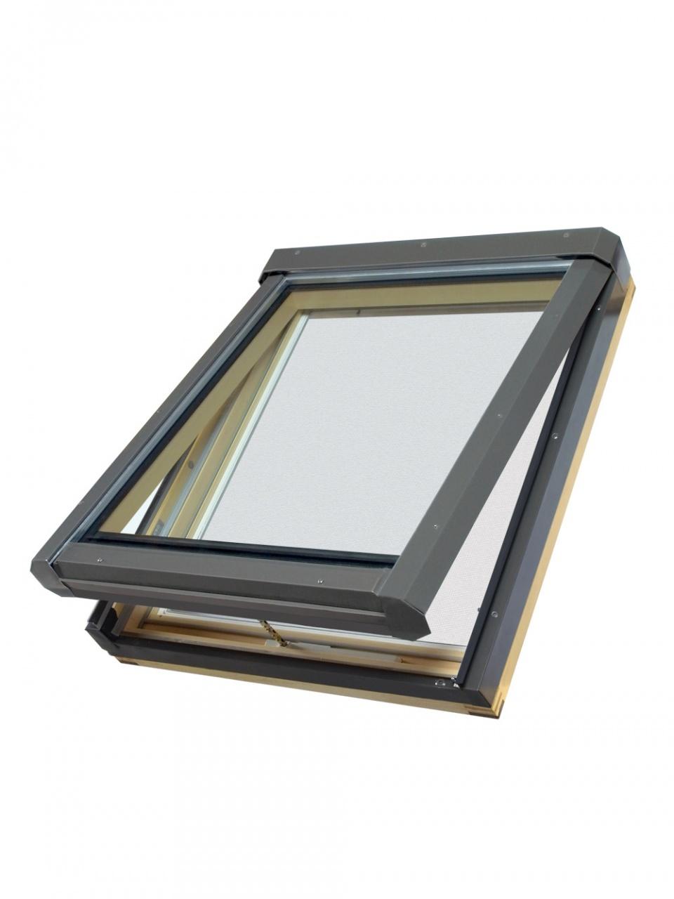 Deck mounted manual venting skylight FV - FAKRO