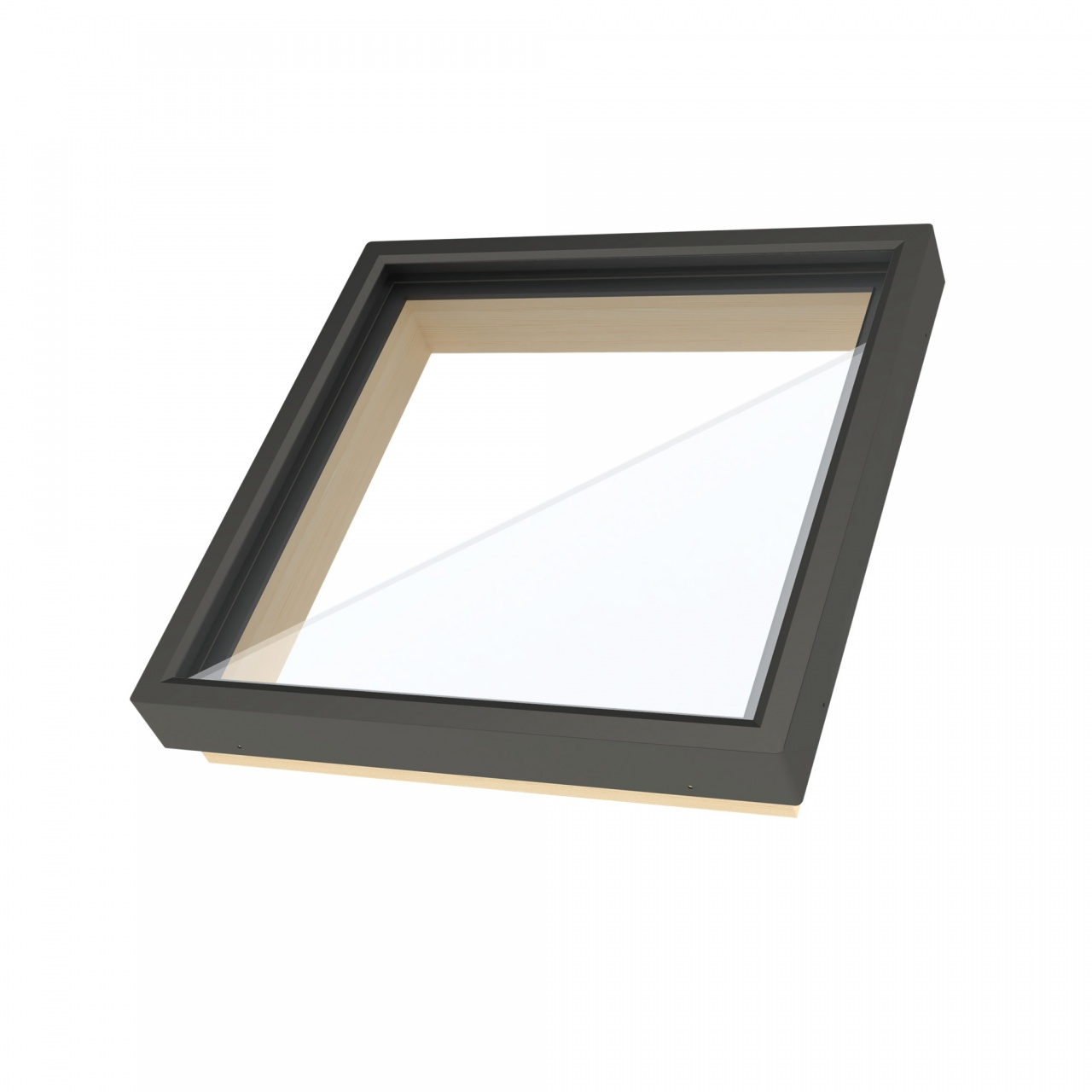 Curb mounted fixed skylight FXR