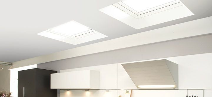 Flat Roof Deck Mounted Skylight DEF